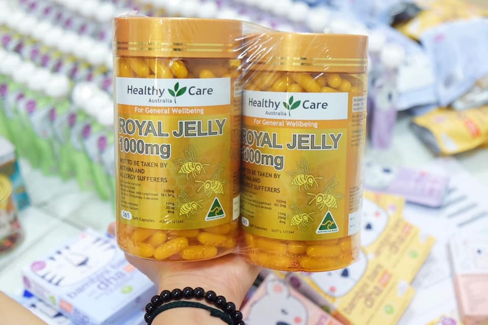 Sữa ong chúa Healthy care Royal Jelly -5618