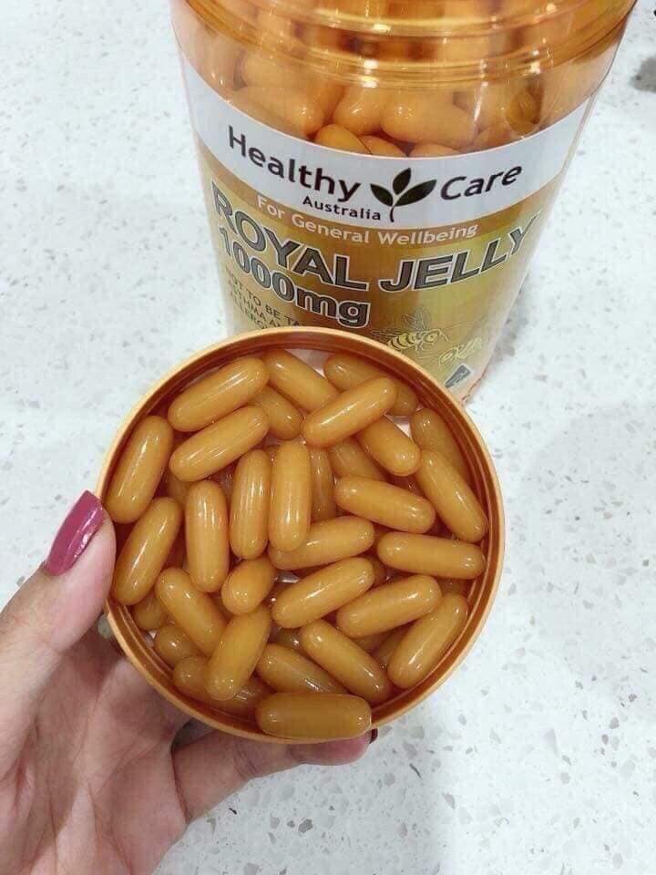 Sữa ong chúa Healthy care Royal Jelly -5619