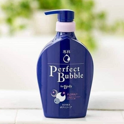 Sữa tắm Shiseido Perfect Bubble For Body Floral Màu Xanh